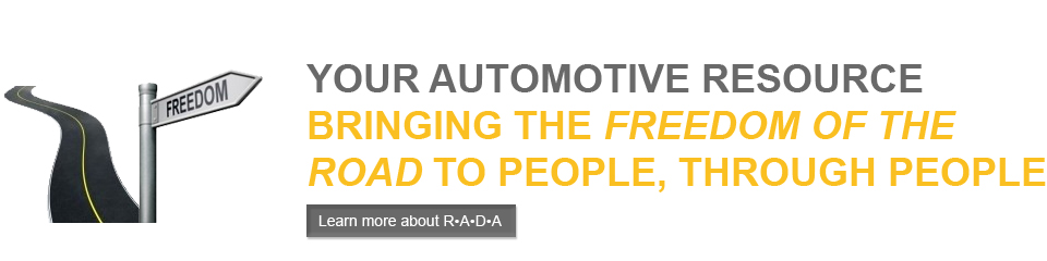 Your automotive resource. Bringing the freedom of the road to the people, through the people.